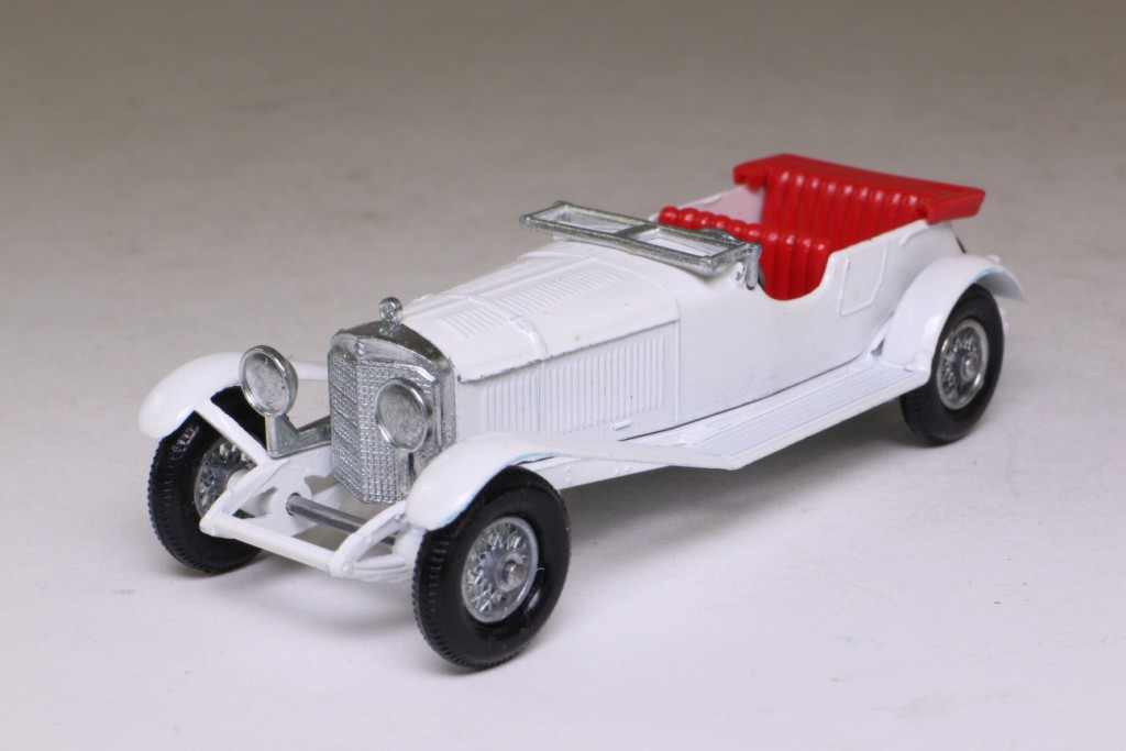 2017 White Mercedes Benz >> Models of Yesteryear Y-10/2; 1928 Mercedes-Benz 36-220; White, Single Spare Wheel 51351