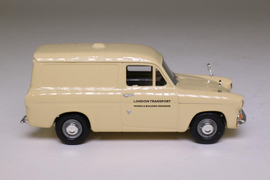 Vanguards VA00416; Ford Anglia Van; London Transport Works and ...