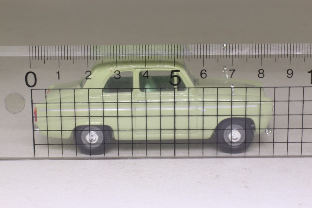 Vanguards VA02111; Ford 100e Anglia; Lime Green 52685