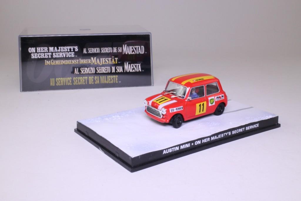 James Bond 71 Mini Cooper On Her Majestys Secret Service 57130