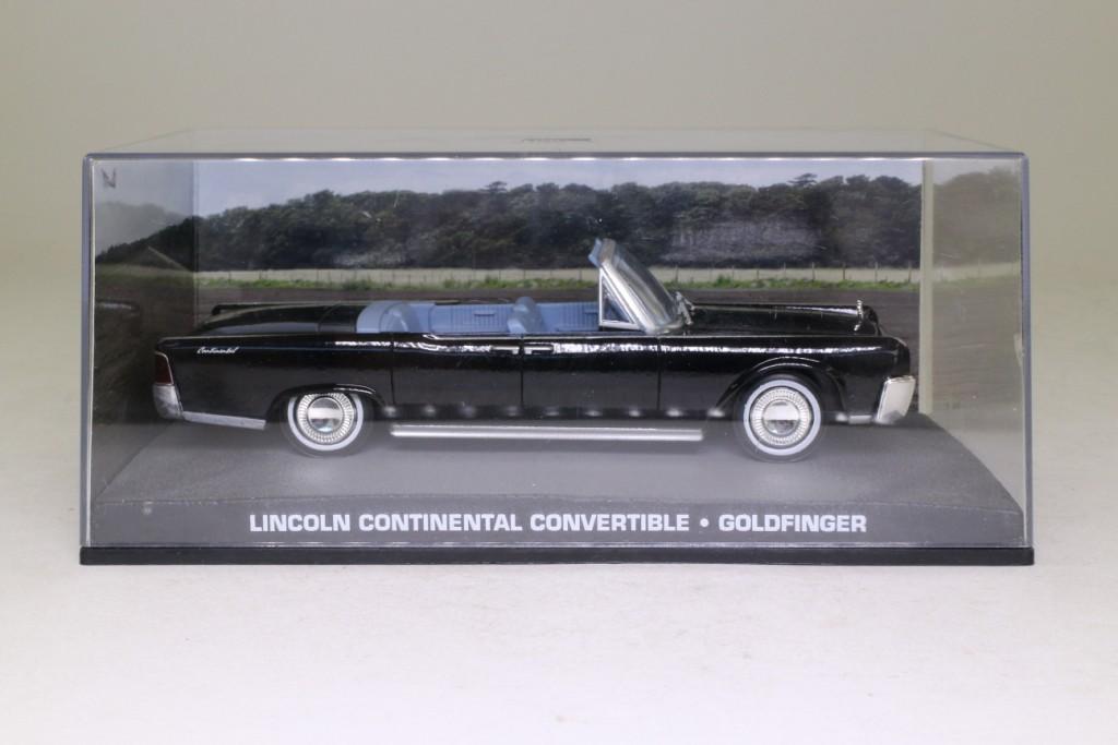 james bond 132 lincoln continental convertible goldfinger 57243. Black Bedroom Furniture Sets. Home Design Ideas