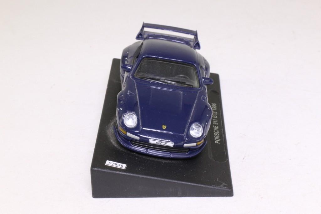deagostini 1 43 scale 1996 porsche 911 gt2 dark blue very good unboxed ebay. Black Bedroom Furniture Sets. Home Design Ideas