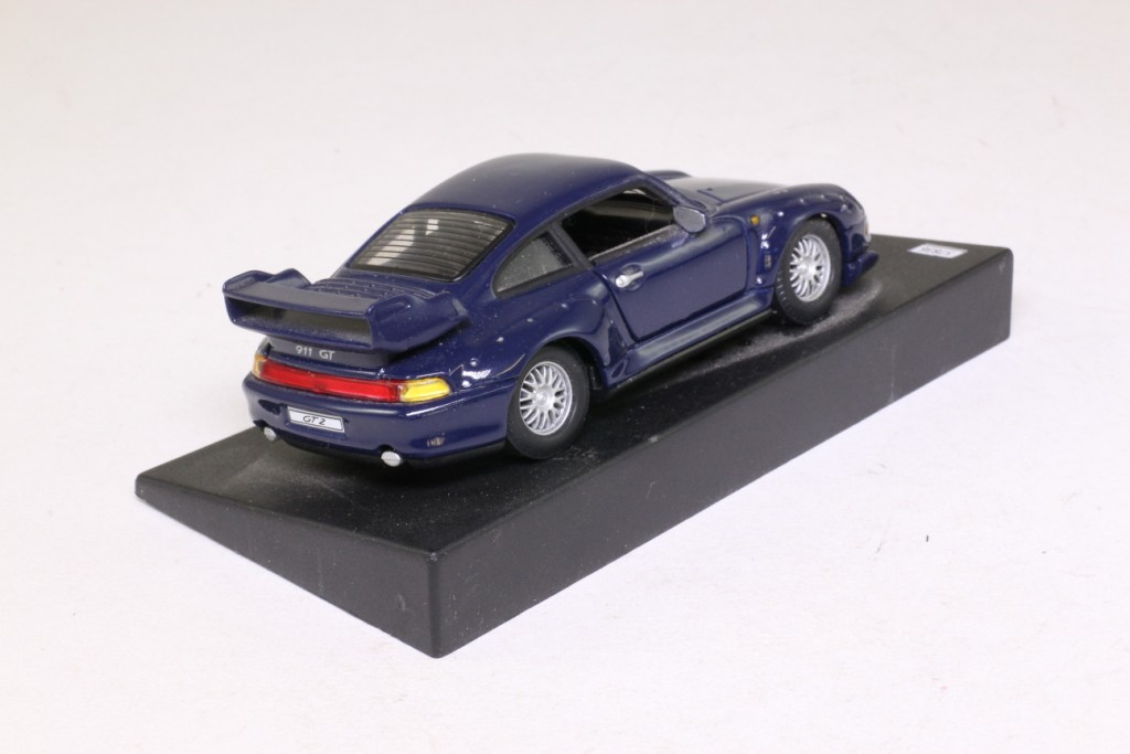 deagostini 1 43 scale 1996 porsche 911 gt2 dark blue very good unboxed ebay. Black Bedroom Furniture Sets. Home Design Ideas