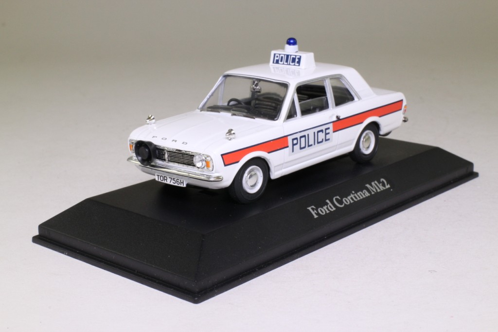 Best of British Police Cars Series; 1970 Ford Cortina MkII ...