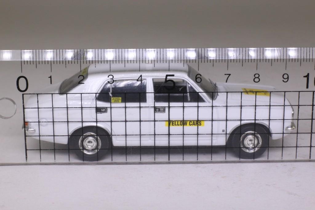 Vanguards VA06307; Morris Marina 1800; Yellow Cars 58353