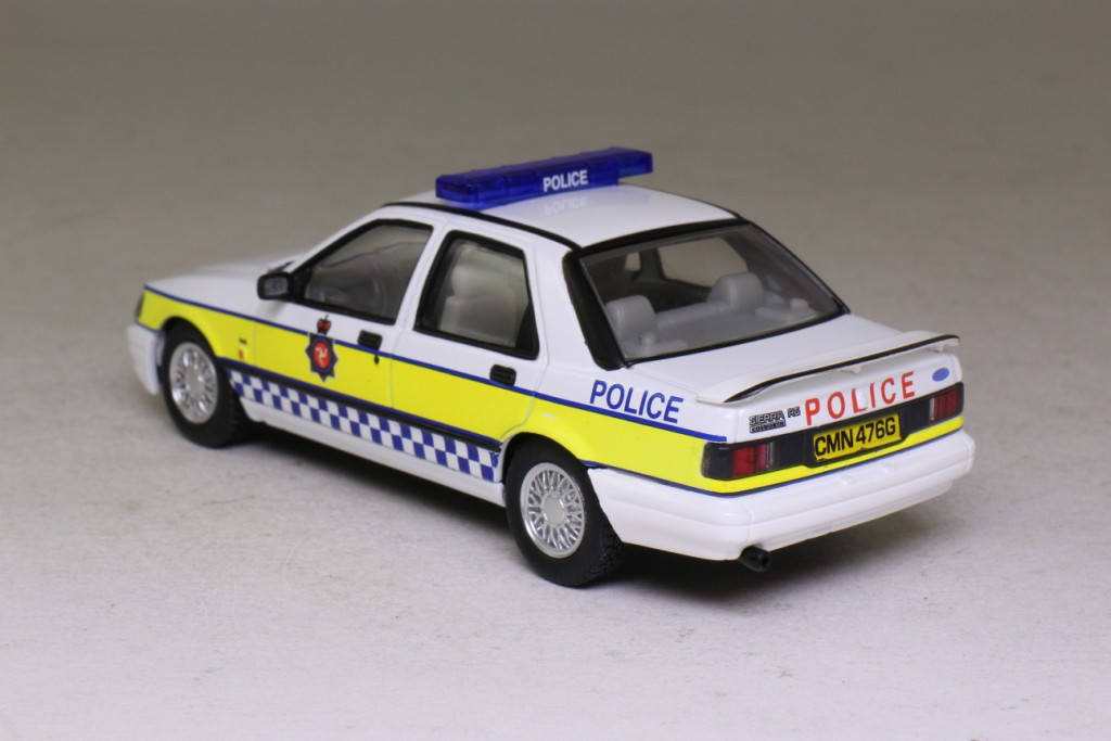 Vanguards VA10008; Ford Sierra Sapphire Cosworth; Isle of Man Police