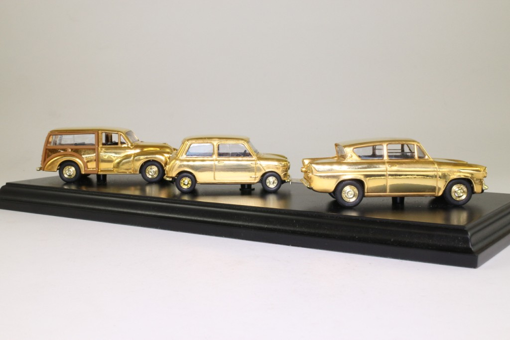 Vanguards BPL1003; British Motoring Classics of the 1960s Set; 3x ...