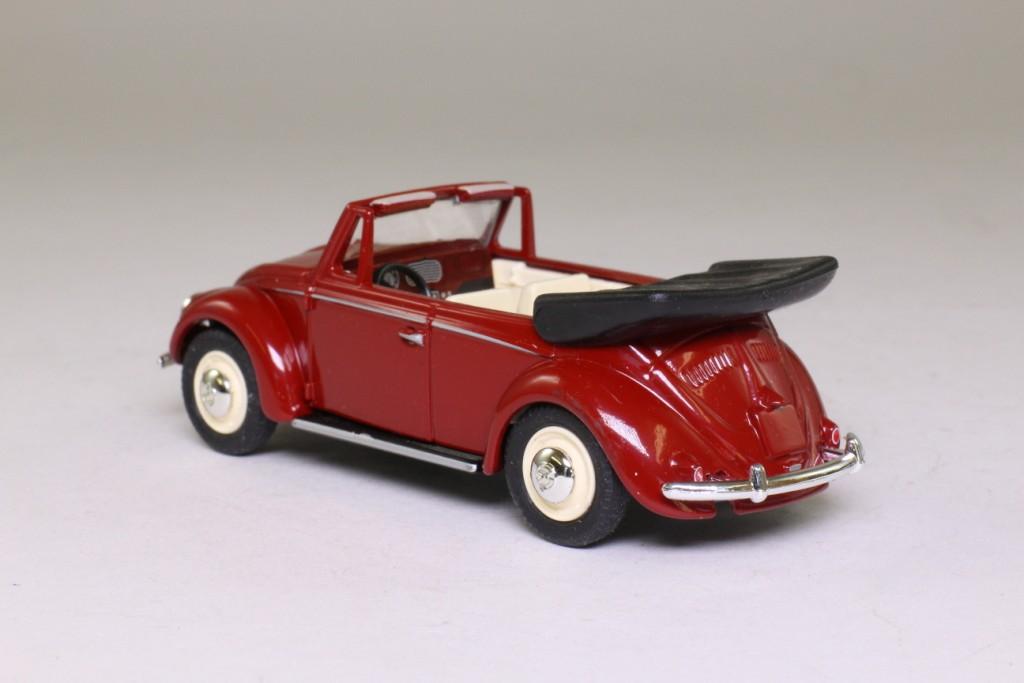 Vanguards VA2000; Volkswagen Beetle Cabriolet; Open Top, Red 60833