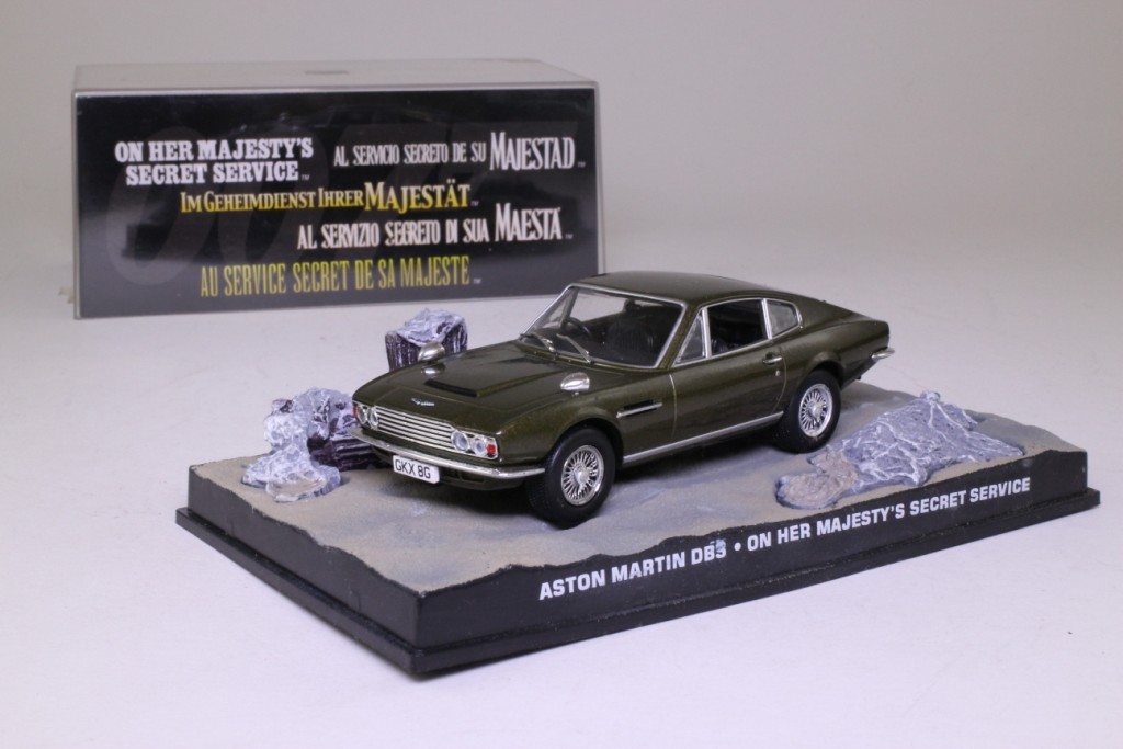 Aston Martin Service >> James Bond Aston Martin DBS On Her Majesty's Secret Service 62840