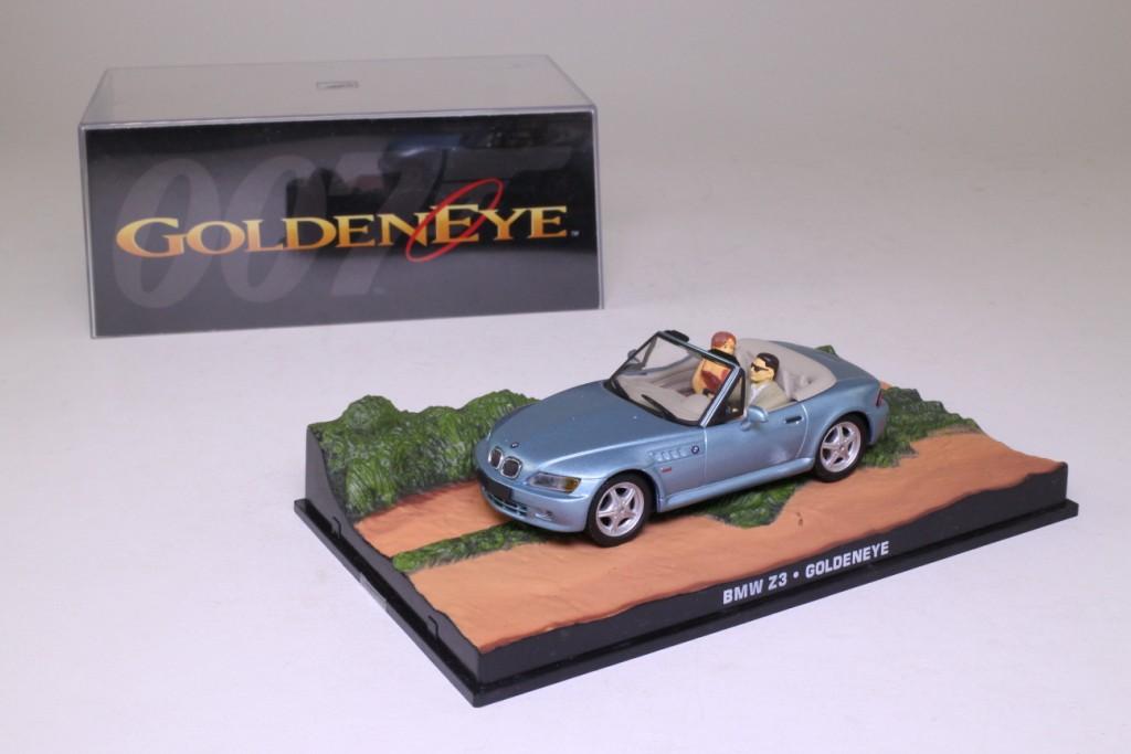 James Bond #09; BMW Z3 Roadster; Goldeneye 62844