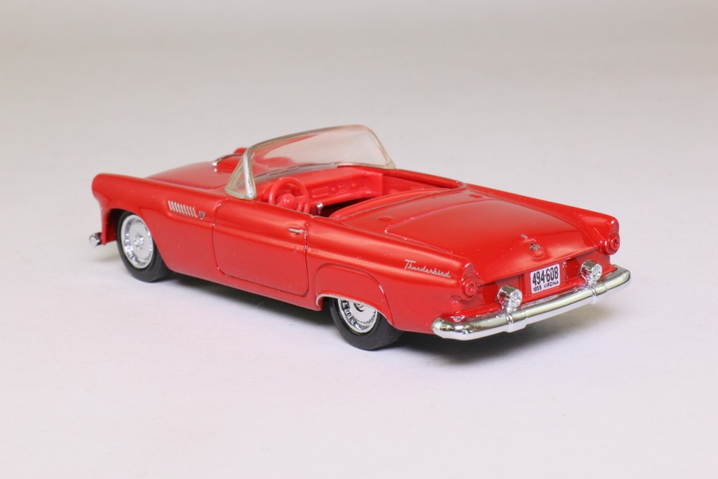 Dinky by Matchbox: DY-31; 1955 Ford Thunderbird; Top Down; Red 63009
