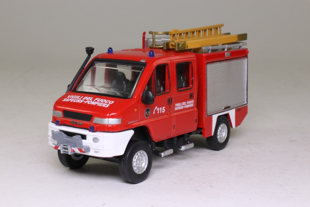 2017 Trucks >> Fire Engines of the World Series #113; 1997 VSR 4x4 SCAM Fire Truck 63553