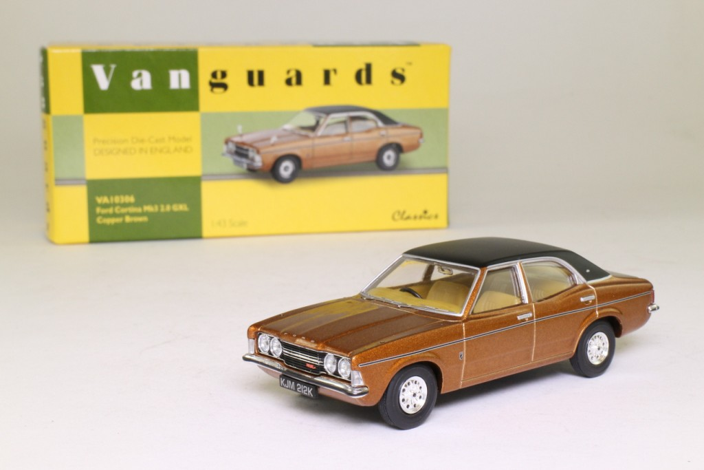 Vanguards VA10306; Ford Cortina MkIII; 2.0 GXL; Copper Brown