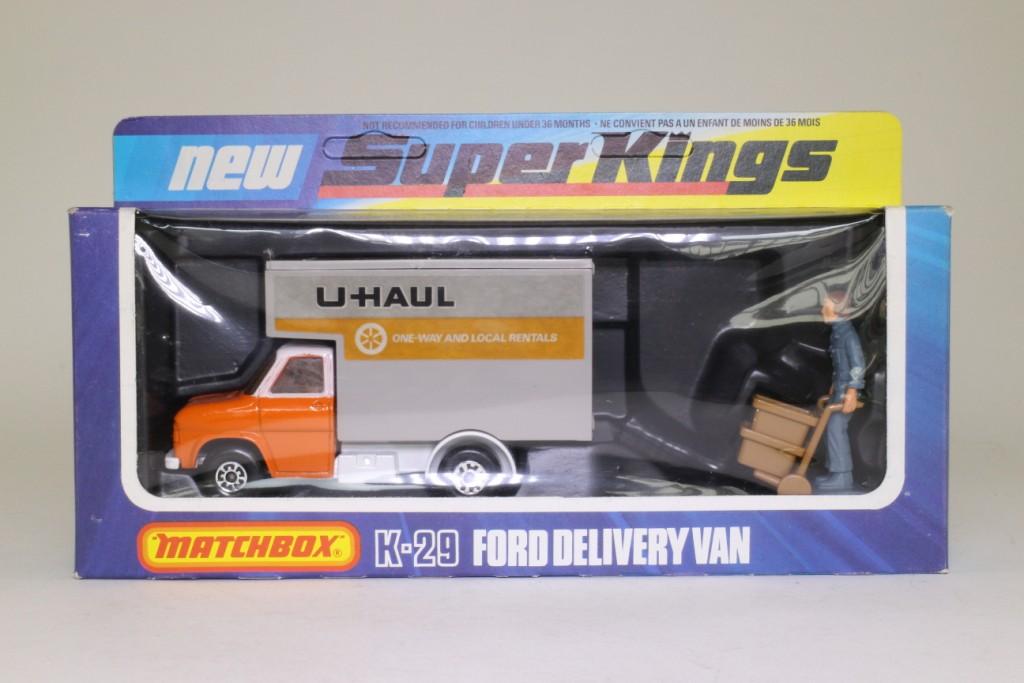 Matchbox SuperKings K-29/2; Ford A Series Luton Van; U ...