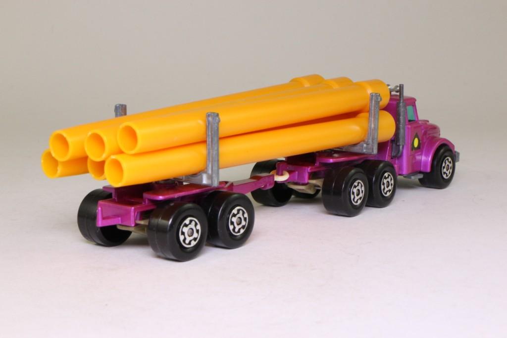 Matchbox Superkings K 10 2 Scammell Pipe Truck Purple