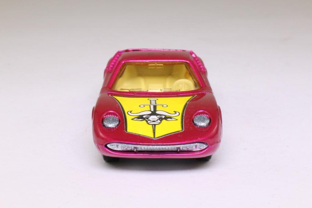 Matchbox Speedkings K 24 1 Lamborghini Miura Metallic Pink 67419
