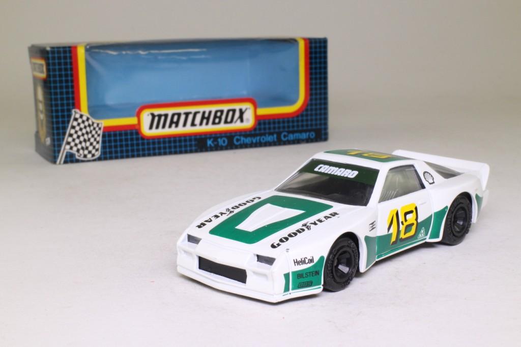 Matchbox SpeedKings K-10/5; 1985 Chevrolet Camaro Turbo ...