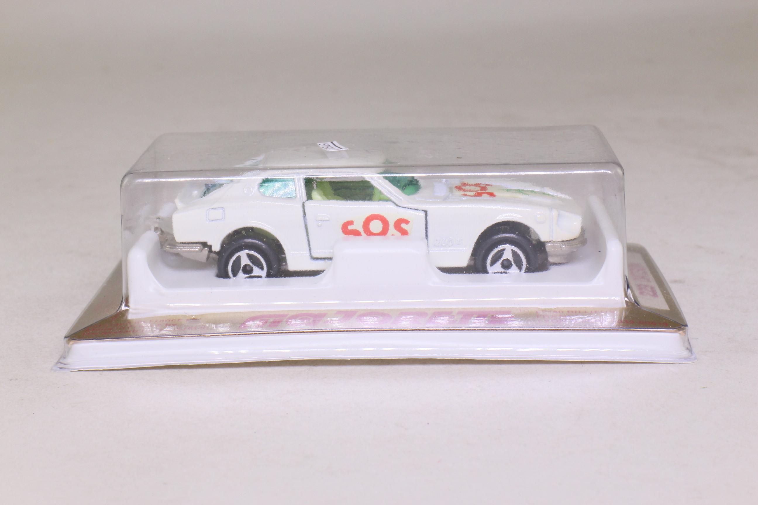 Majorette 229; Datsun 240Z; White, 'SOS'; Excellent Sealed ...