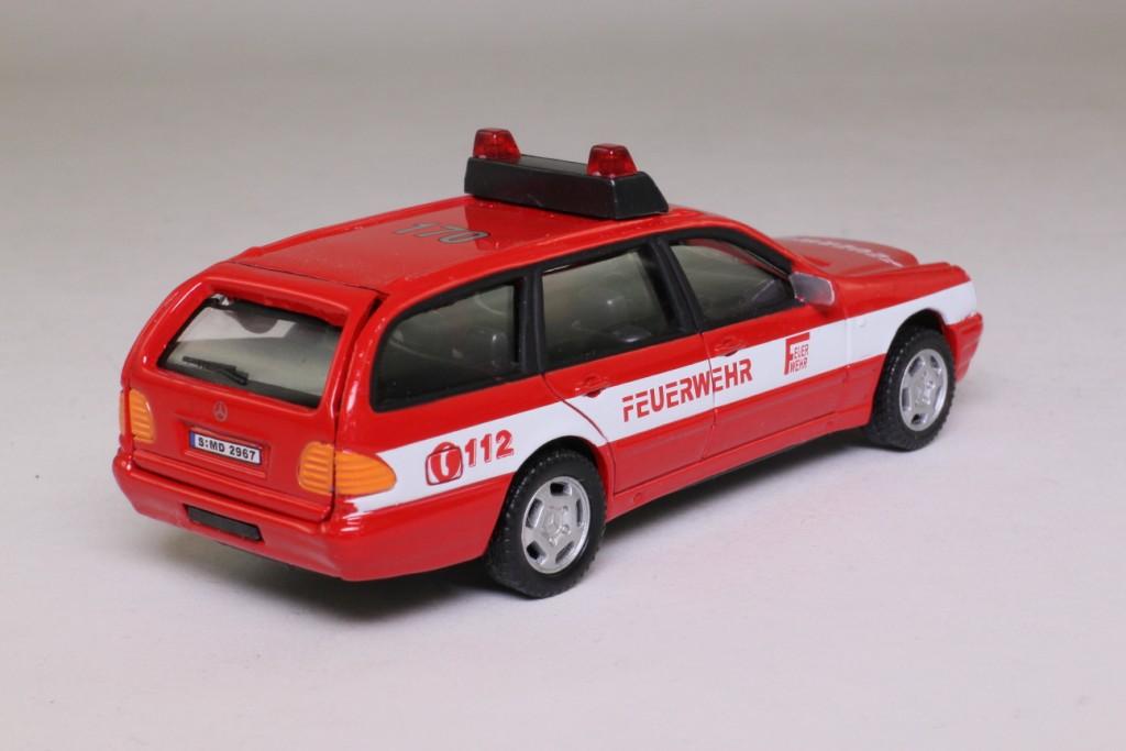 Cararama mercedes c class estate feurwehr german fire for Mercedes benz c service details