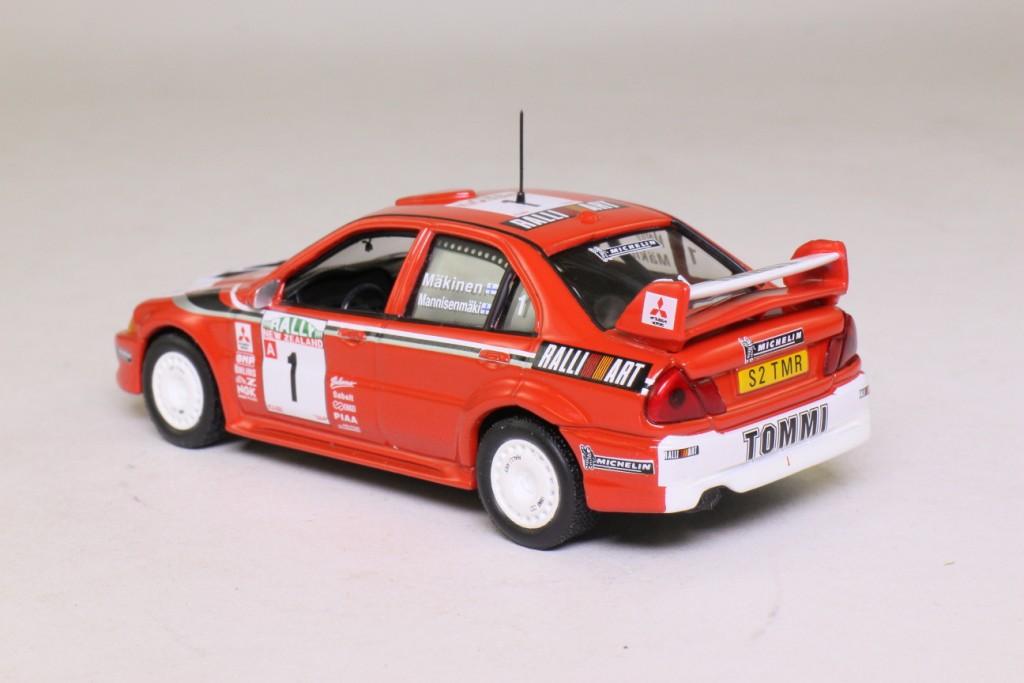 DeAgostini: Mitsubishi Lancer Evo VI; 1999 NZ Rally; Makinen ...