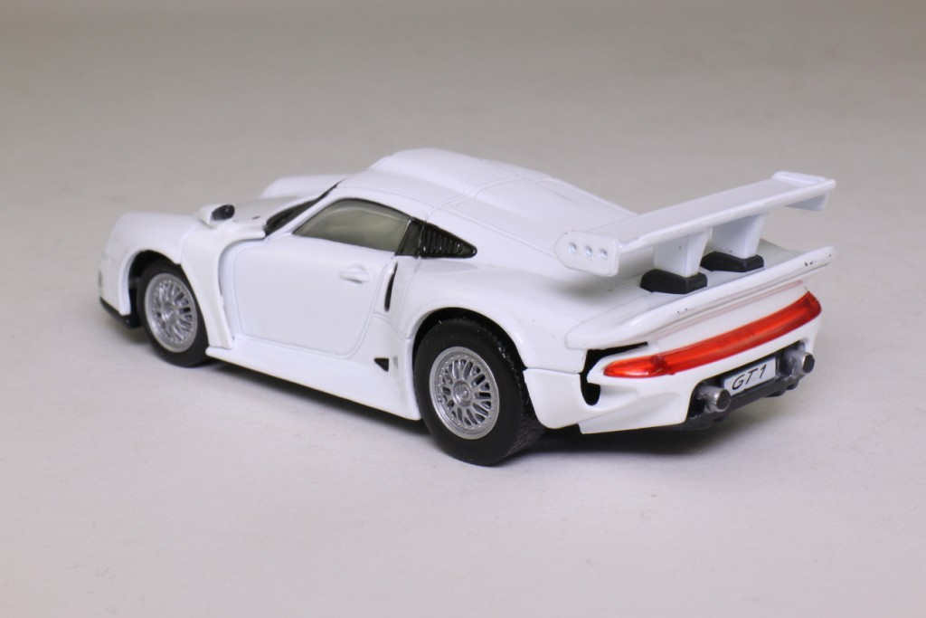 deagostini 1995 porsche 911 gt1 le mans road version white excellent in pack ebay. Black Bedroom Furniture Sets. Home Design Ideas