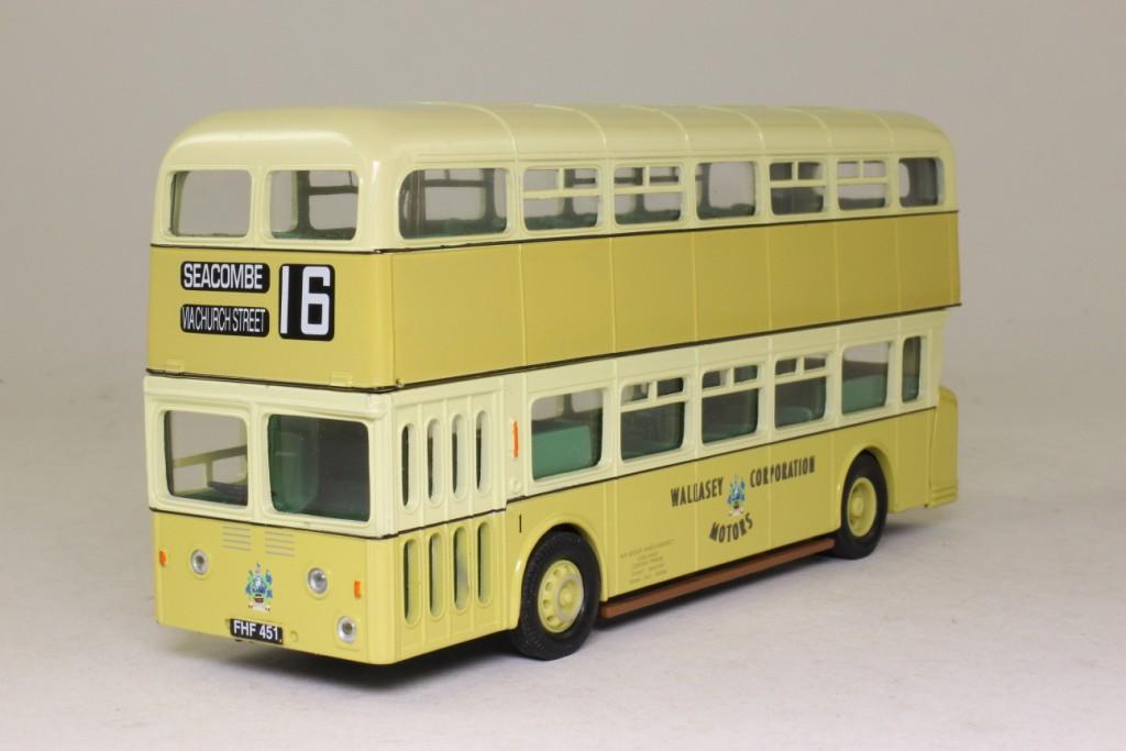 Corgi Leyland Atlantean Bus Wallasey Corp Rt 16