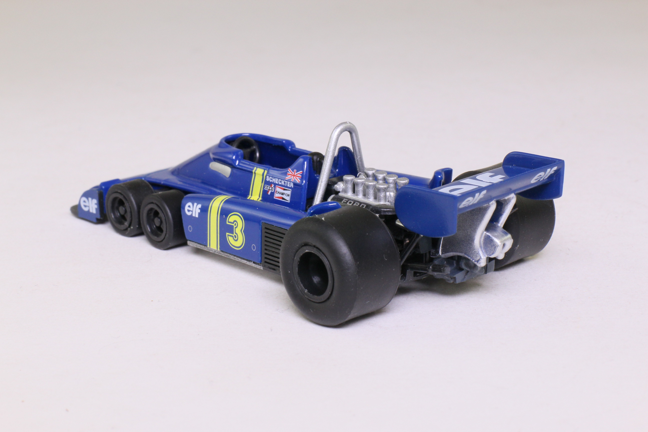 atlas editions 1976 tyrrell p34 six roues f1 jody scheckter excellent boxed ebay. Black Bedroom Furniture Sets. Home Design Ideas