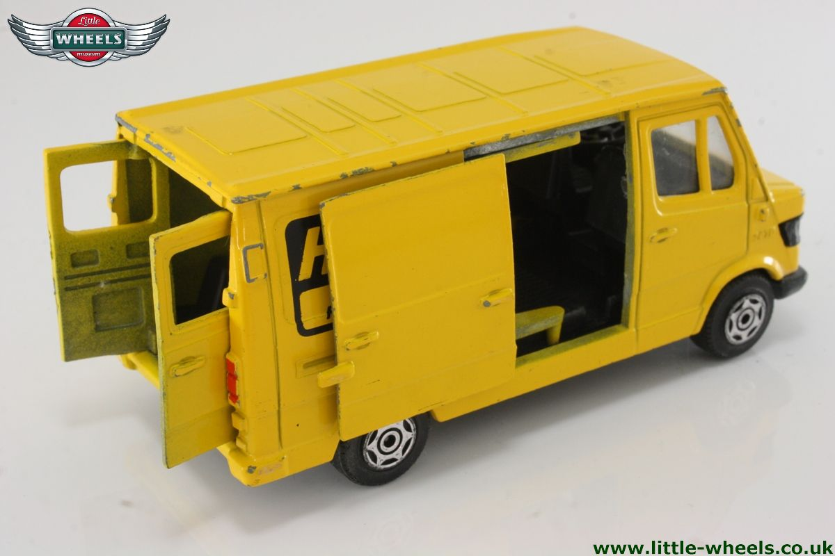 Mercedes-Benz Van 207D - Yellow - Herz Truck Rental ...