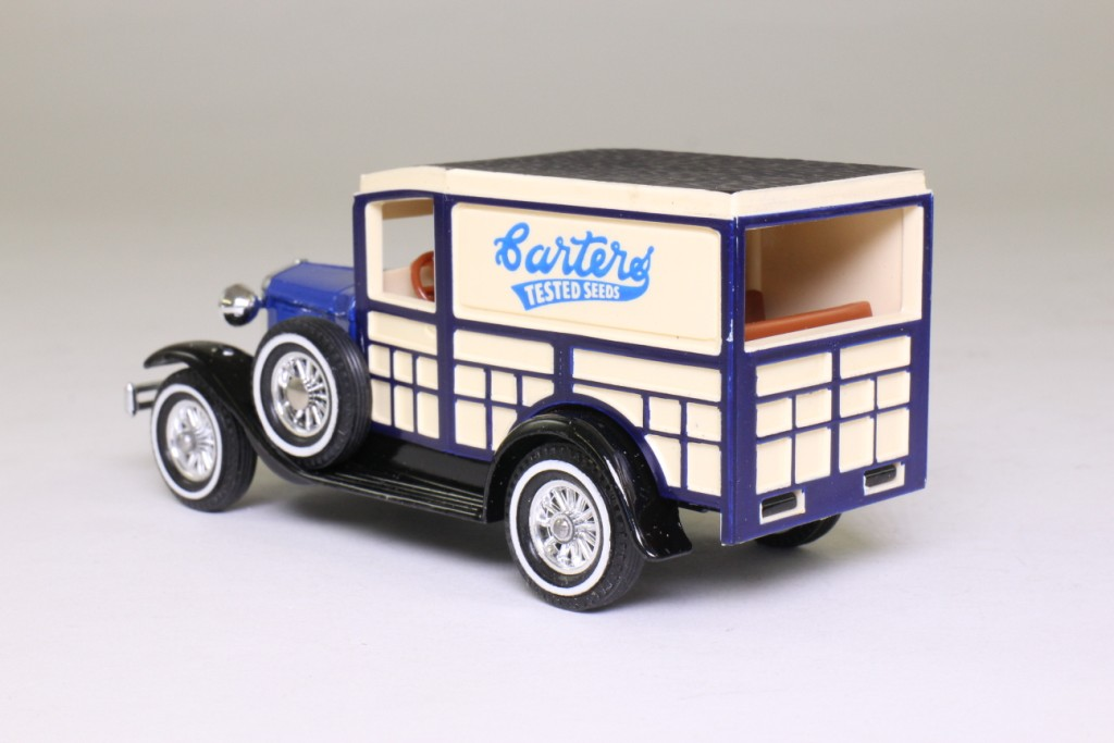 Models of Yesteryear Y-21/1; 1930 Ford Model A Woody Wagon; Carters Tested Seeds 79458
