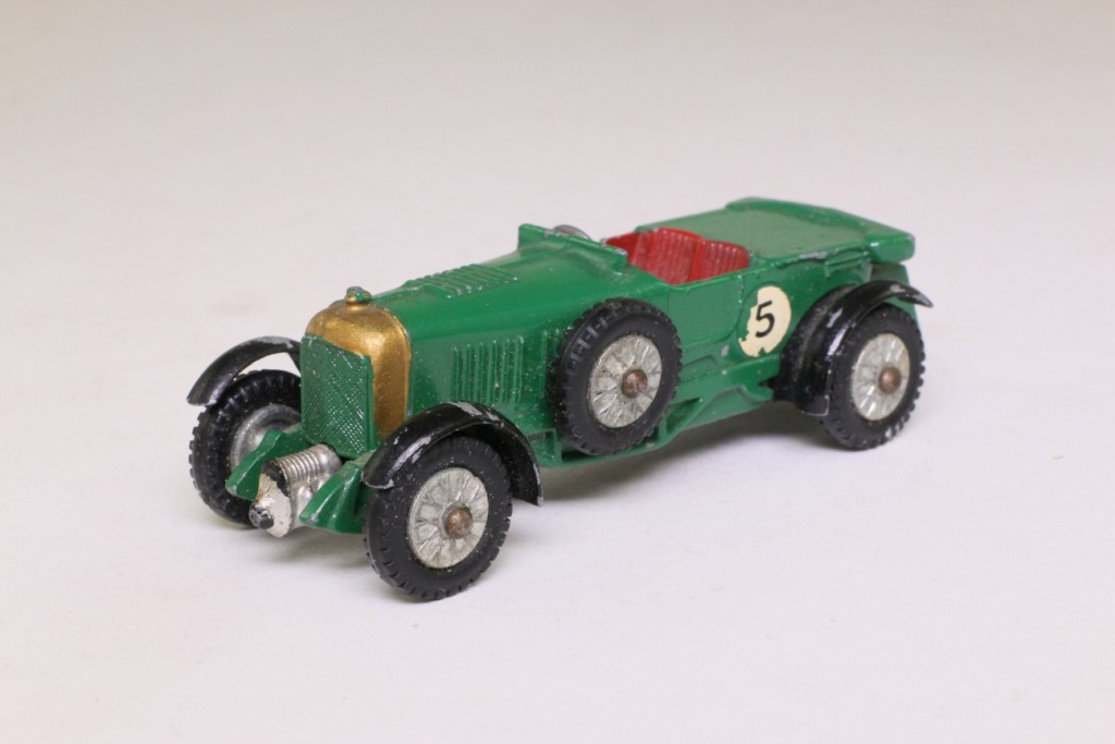 Models Of Yesteryear Y 5 1 1929 Bentley Le Mans British Racing Green Green Tonneau Cover 80824