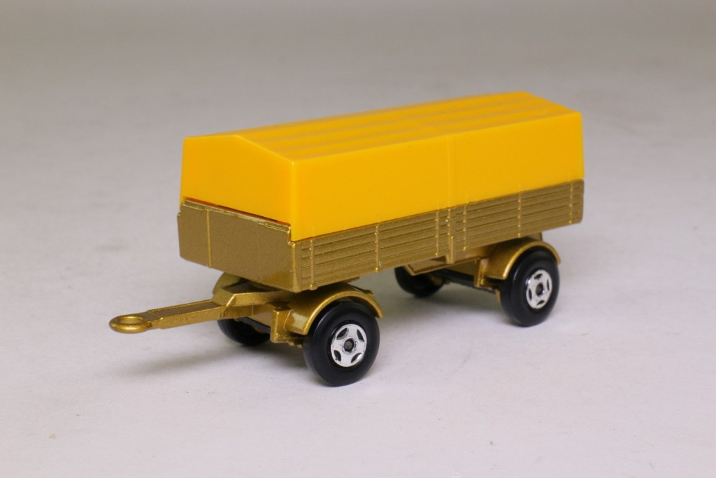 Matchbox/Lesney 2d; Mercedes-Benz Trailer; Gold, Yellow ...