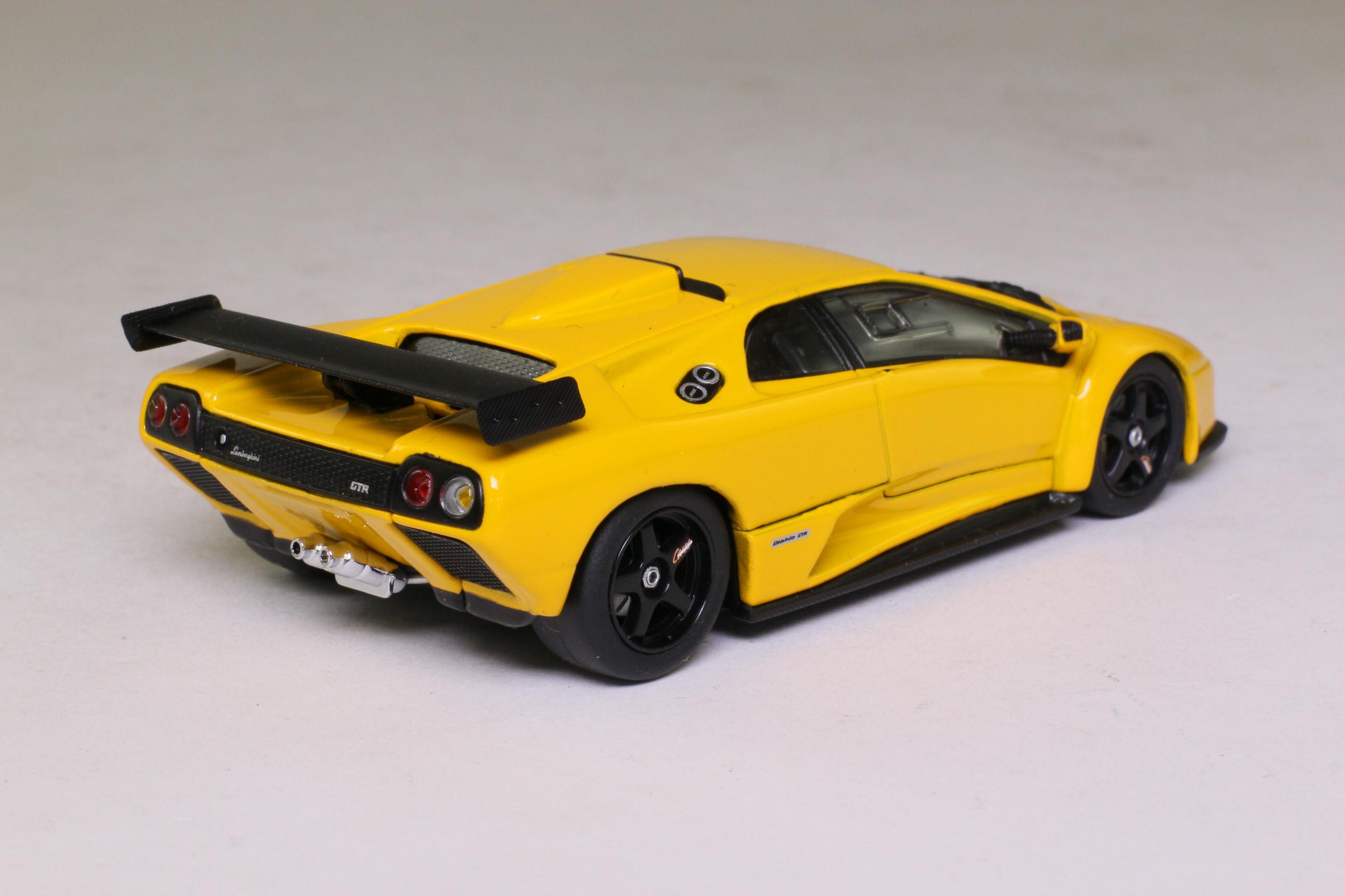 Kyosho 03215y Lamborghini Diablo Gtr S Metallic Yellow Excellent Boxed Ebay