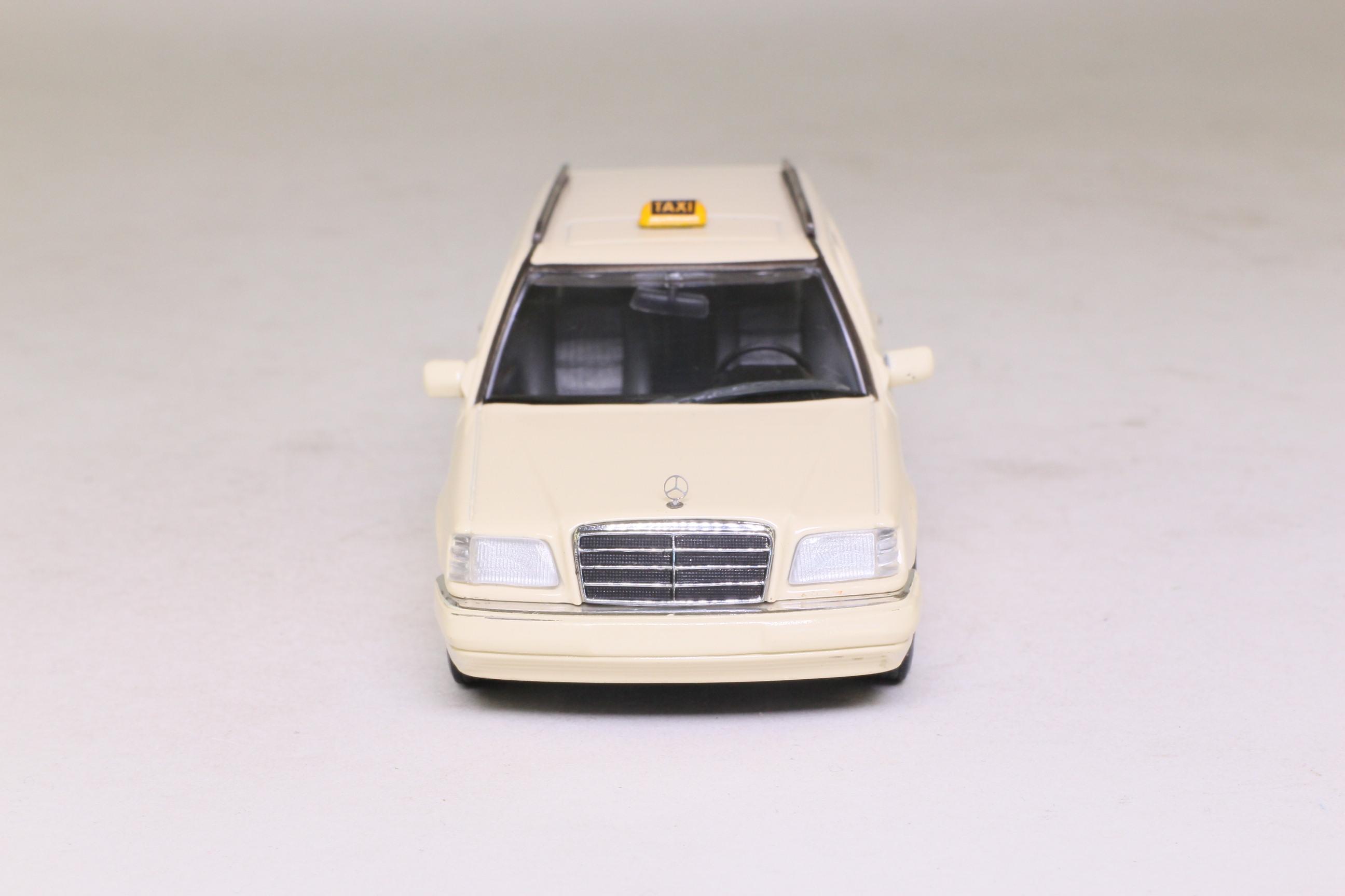 minichamps 430 033596 1994 mercedes benz e class break taxi excellent boxed ebay. Black Bedroom Furniture Sets. Home Design Ideas