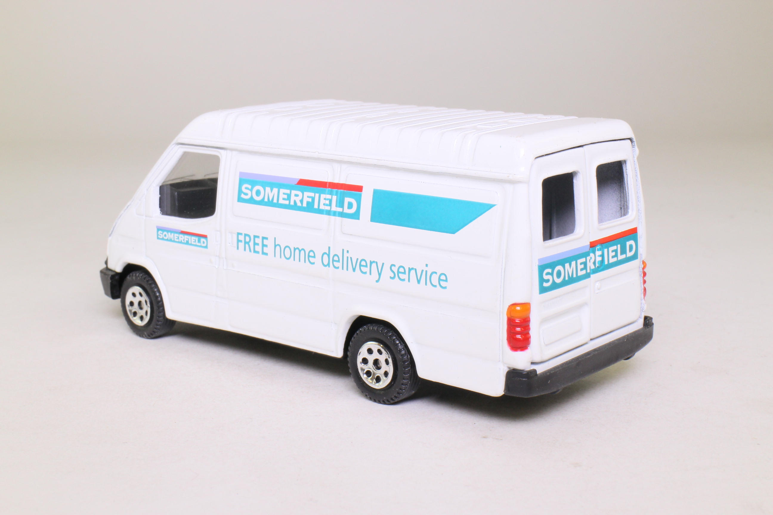 Corgi 58117 1992 ford transit somerfield delivery van for Classic house 1992