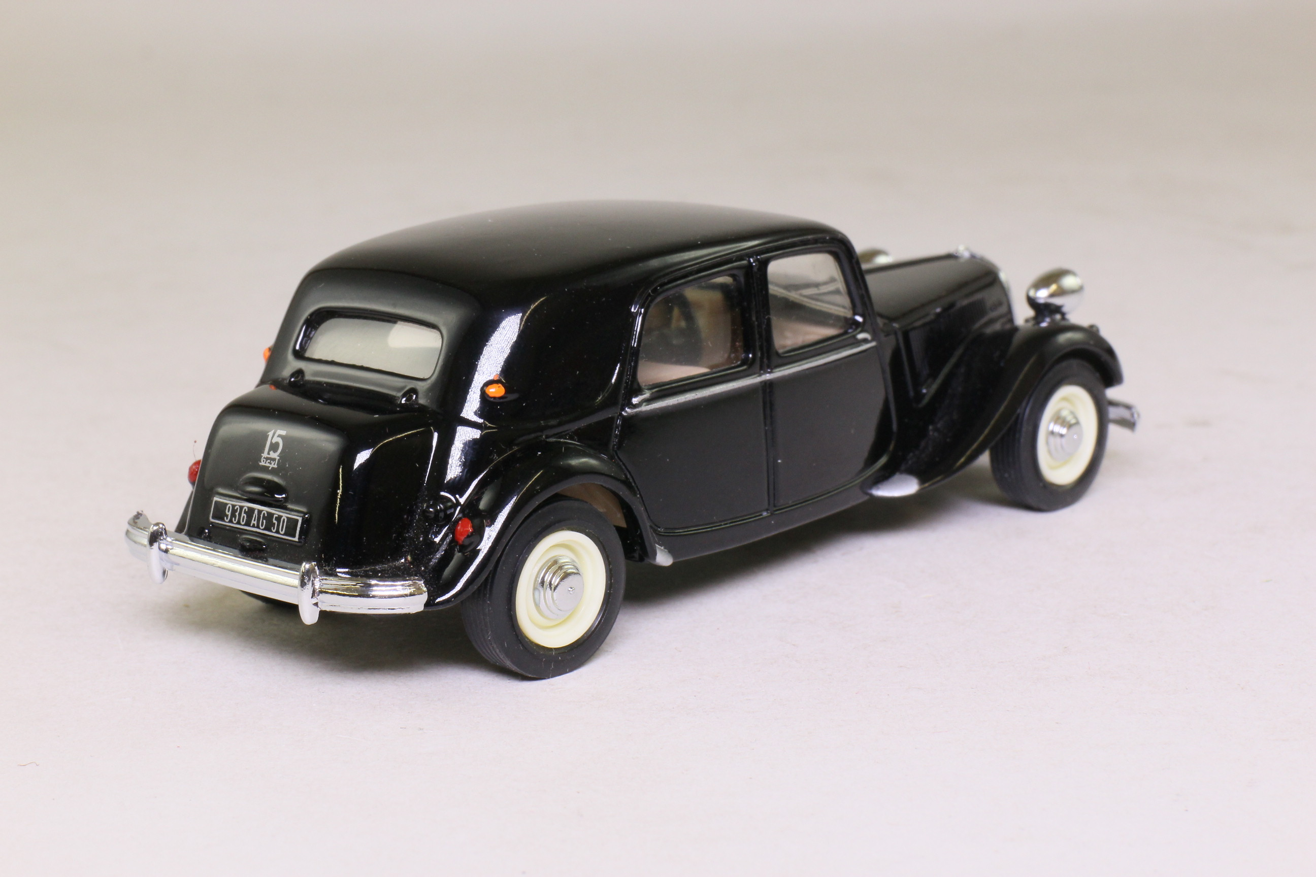 dinky by matchbox dy 22 1952 citroen traction avant black excellent boxed ebay. Black Bedroom Furniture Sets. Home Design Ideas