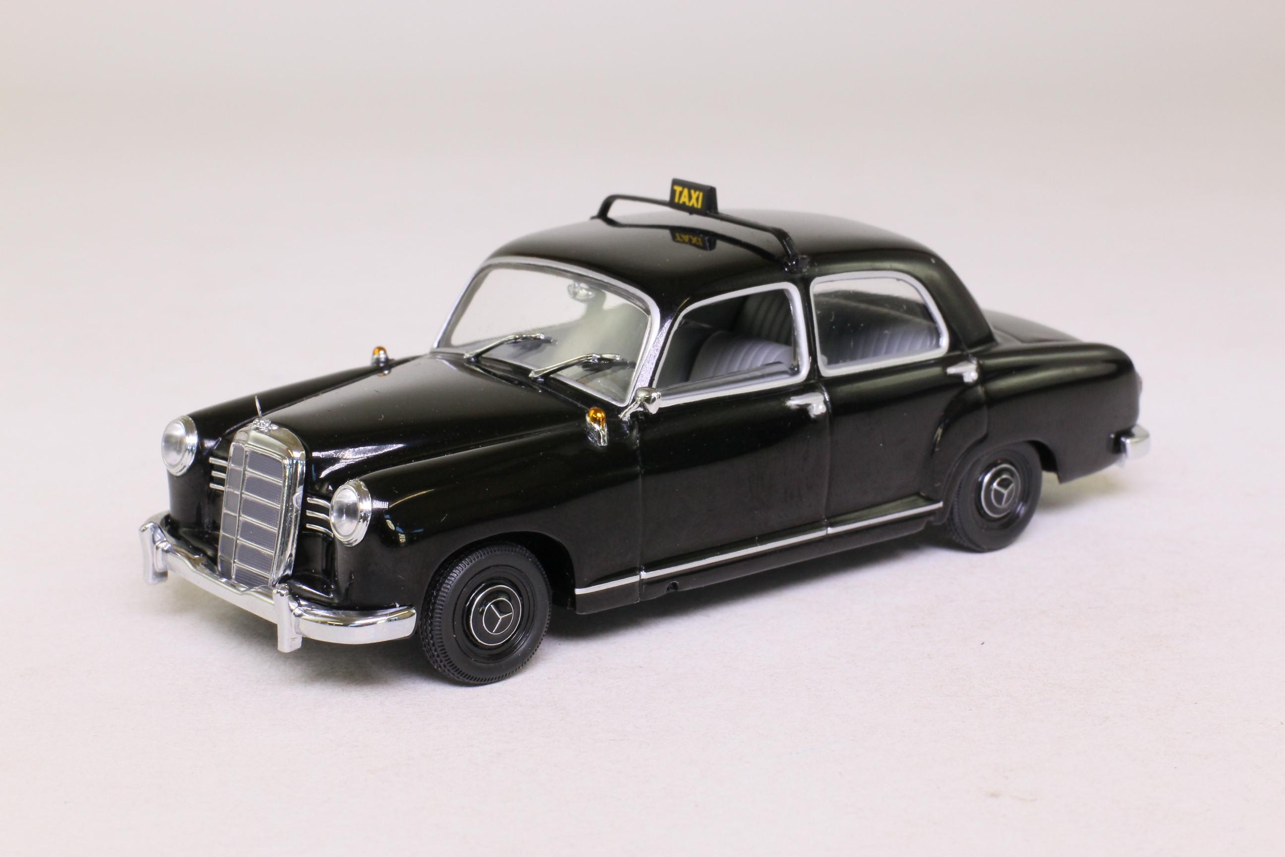 Minichamps 430 033196 1953 mercedes benz 180 taxi black for 1953 mercedes benz