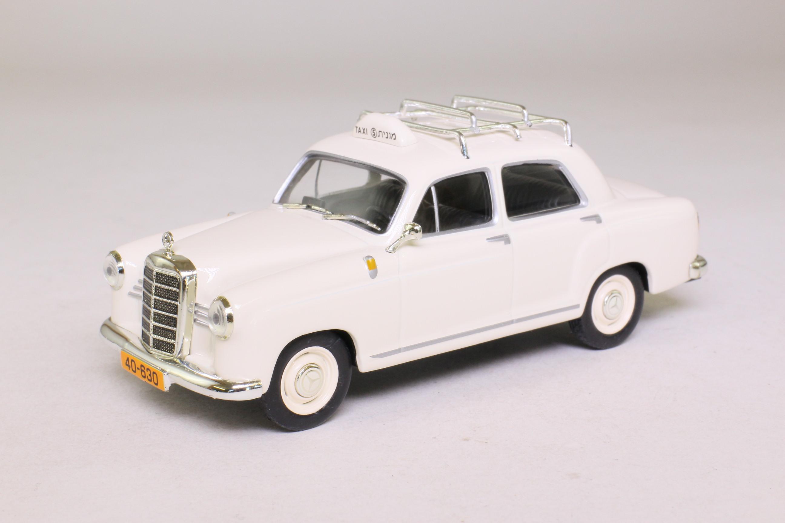 Altaya mercedes benz 180d tel aviv taxi 1962 excellent for Mercedes benz 180d for sale