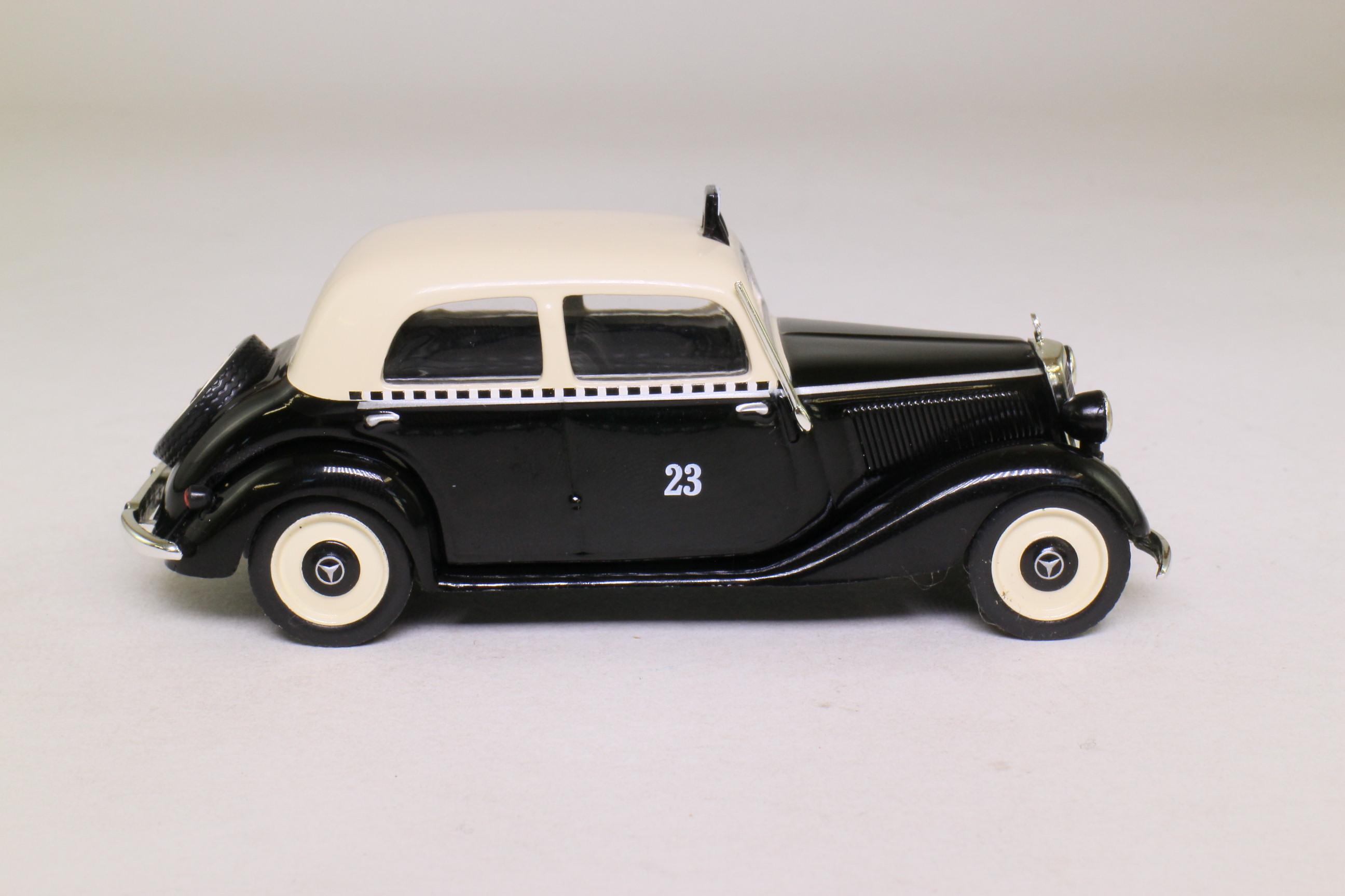 altaya 1 43 scale mercedes benz 170v berlin taxi 1952 excellent in pack ebay. Black Bedroom Furniture Sets. Home Design Ideas