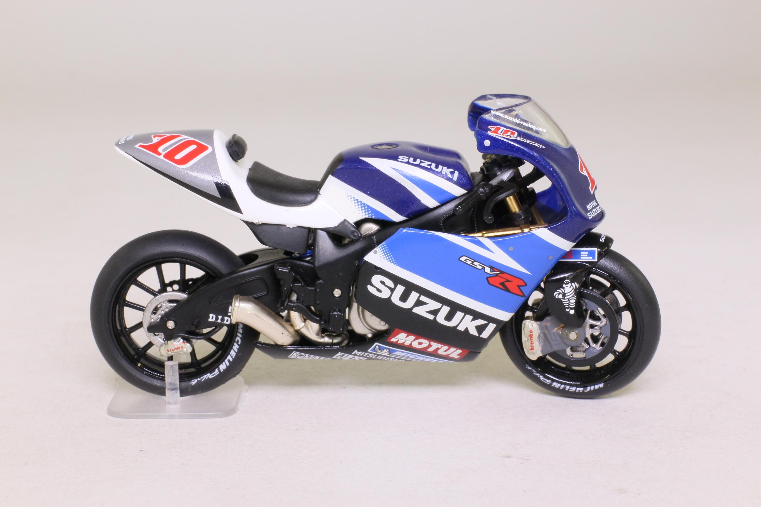 Perfect IXO; Suzuki GSV R Moto GP Motorcycle; 2003, K Roberts, RN10 ...