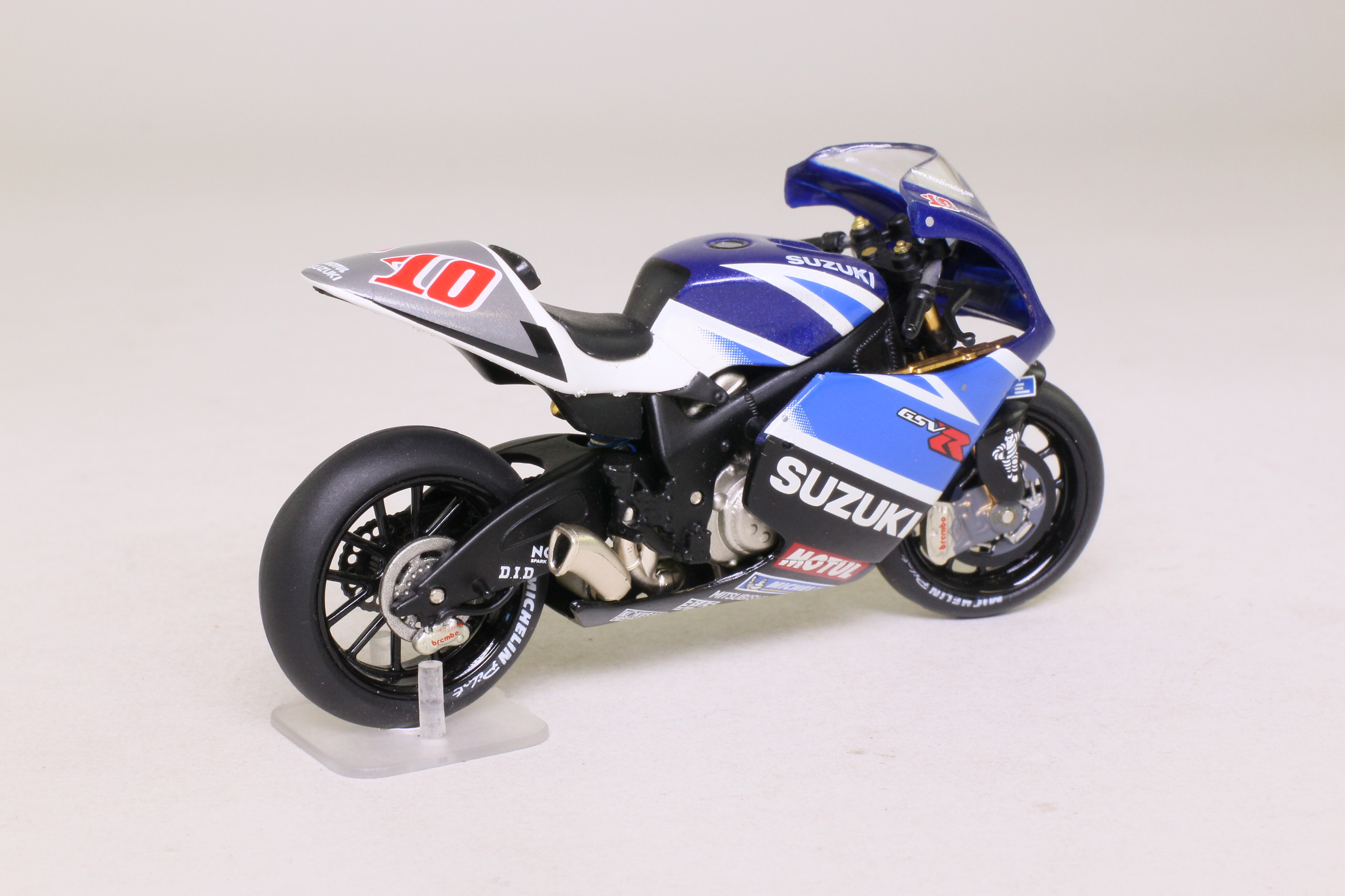Exceptional IXO; Suzuki GSV R Moto GP Motorcycle; 2003, K Roberts, RN10 ...