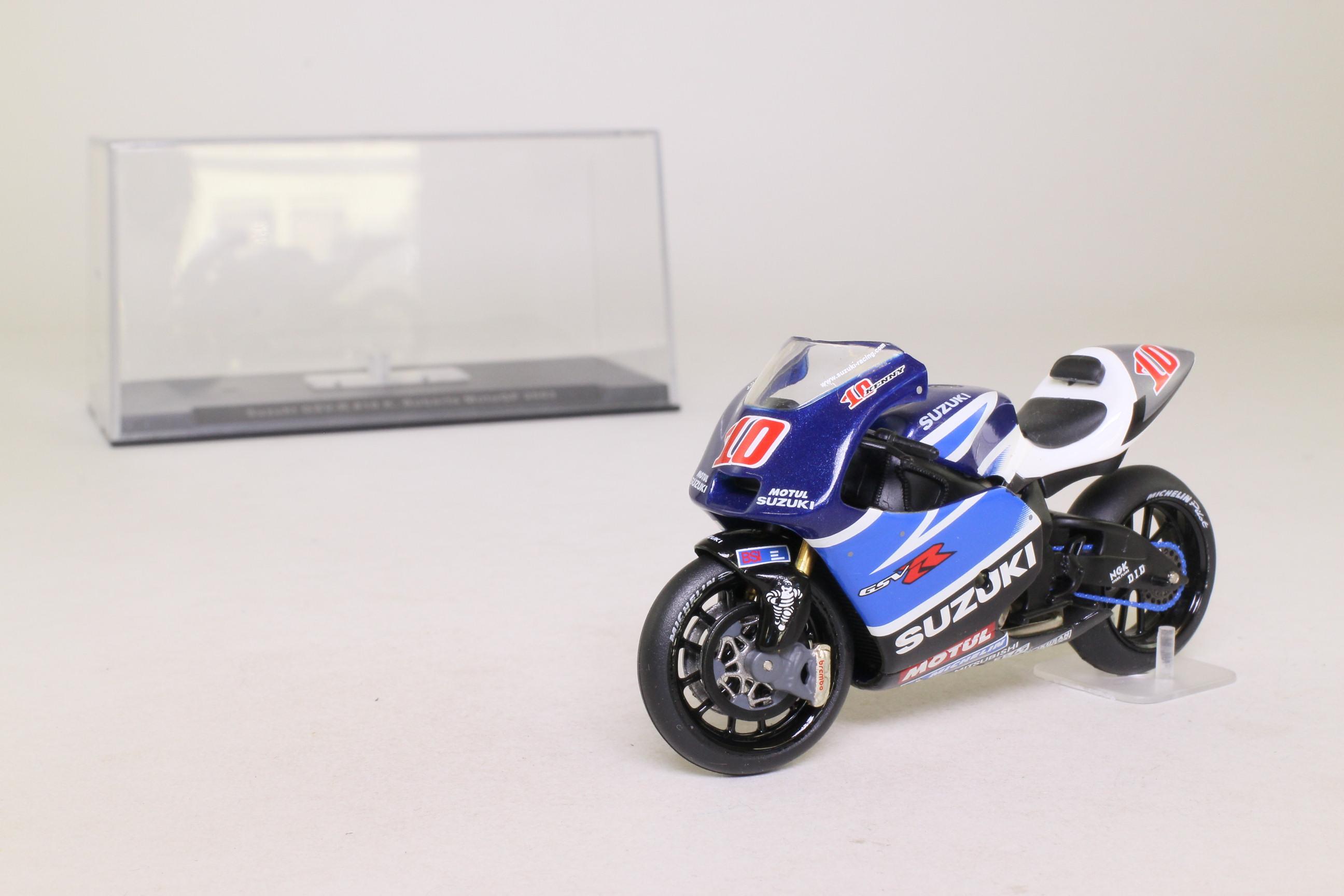 ... IXO; Suzuki GSV R Moto GP Motorcycle; 2003, K Roberts, RN10