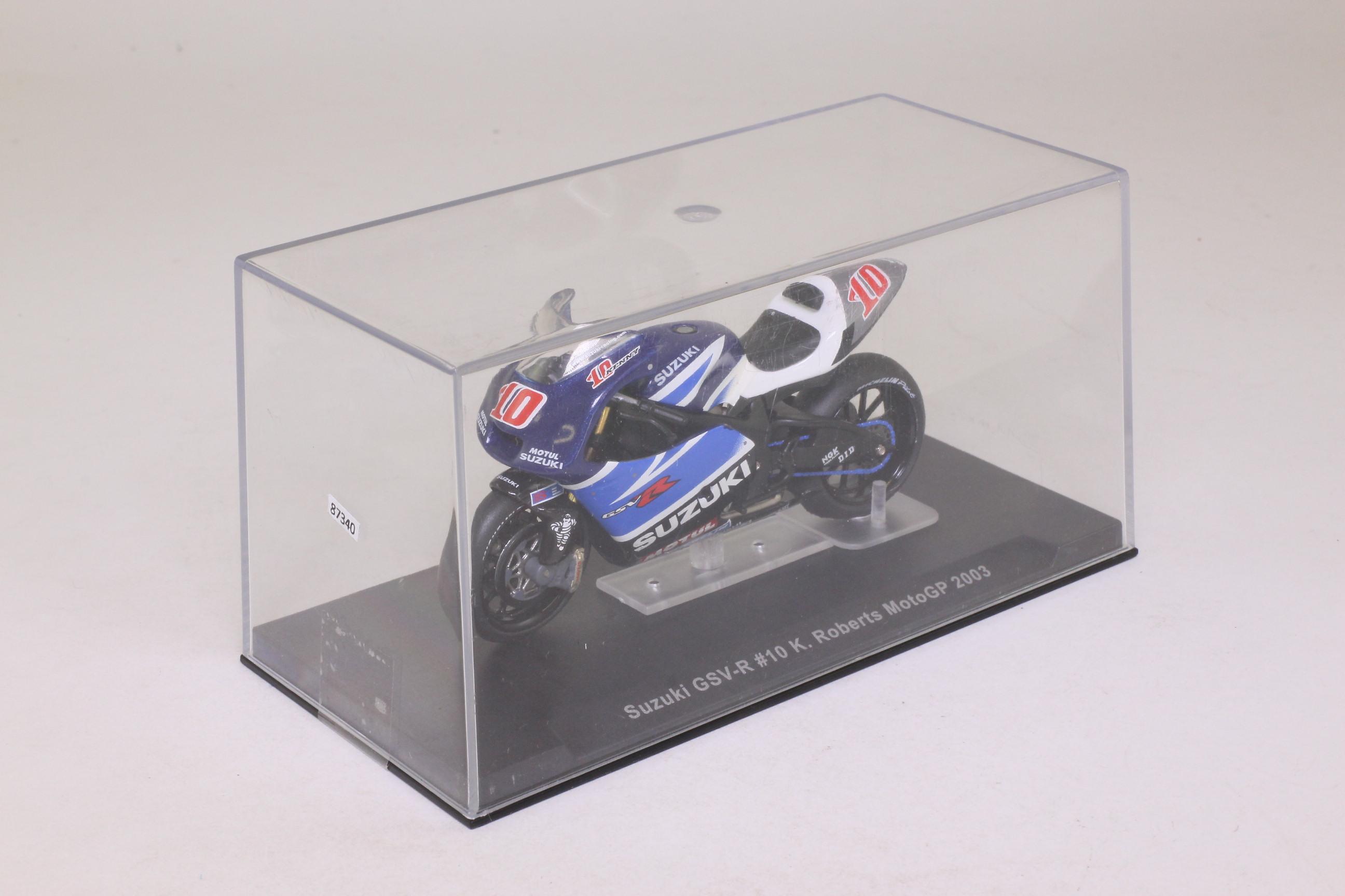 ... IXO; Suzuki GSV R Moto GP Motorcycle; 2003, K Roberts, RN10 ...