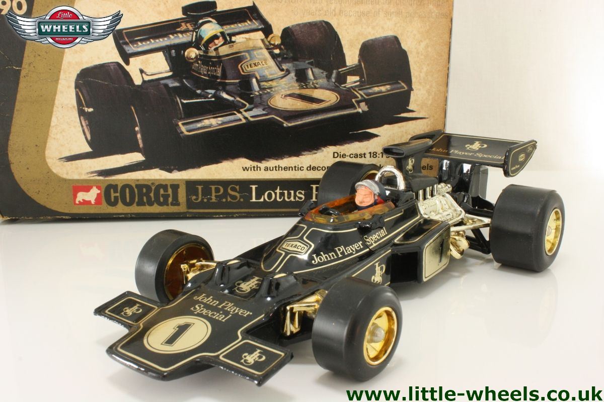 corgi 190 lotus 72 formula 1 john player special black. Black Bedroom Furniture Sets. Home Design Ideas