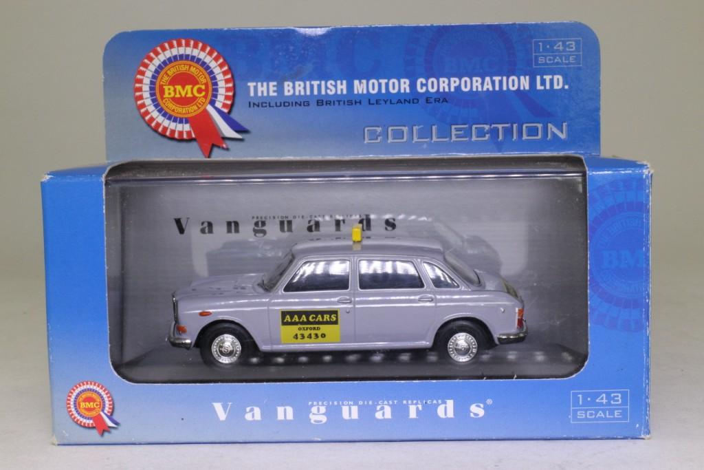 Vanguards VA08503; 1972 Wolseley Six Taxi; AAA Cars, Oxford ...