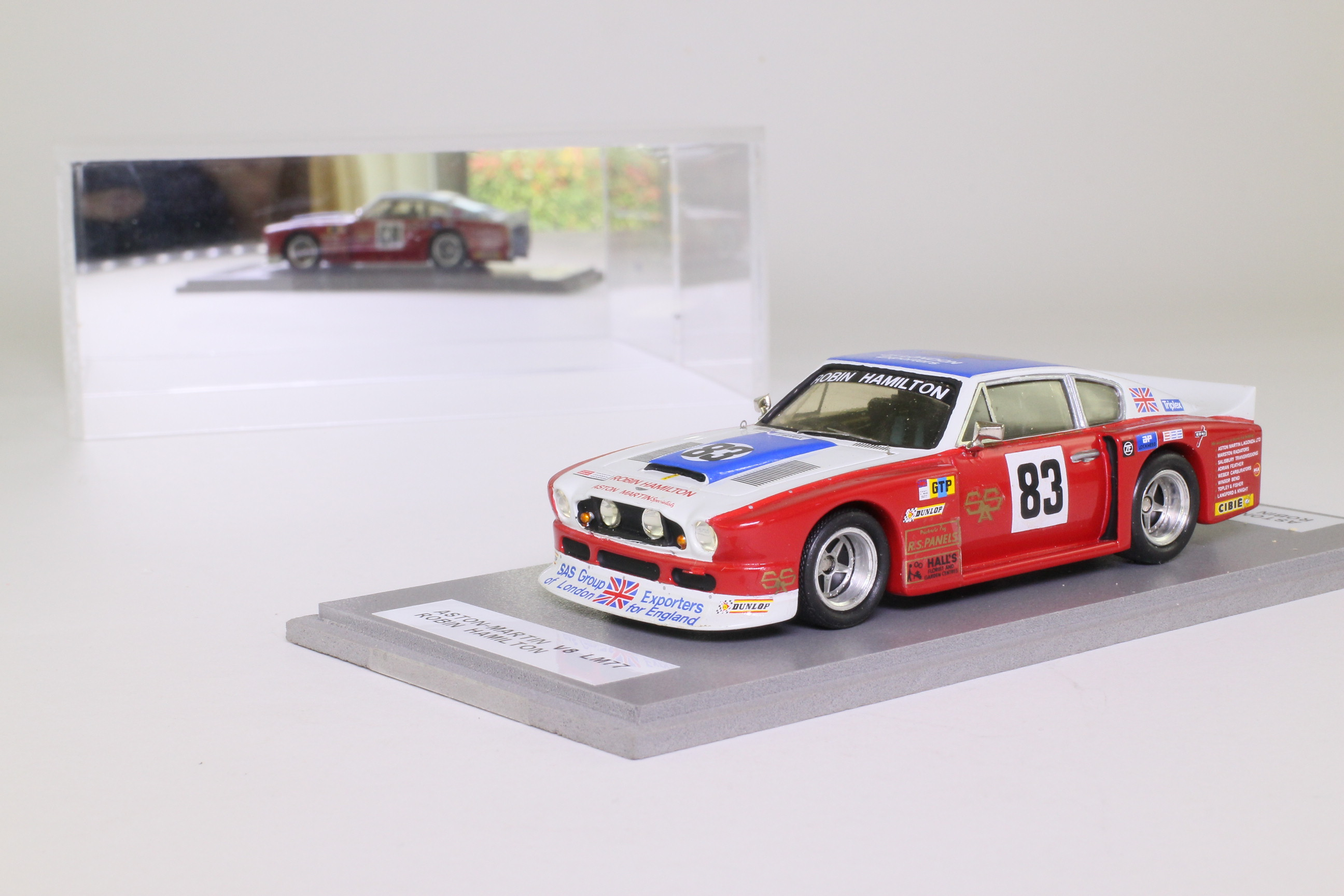 Provence Moulage; Aston Martin V8; 1977 24h Le Mans 17th; Hamilton, Salmon, Preece; RN83