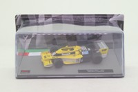 1977 Jean-Pierre Jabouille Renault RS01 de fórmula 1 coche F1 1:43 Panini DIE CAST