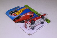 Hot Wheels 234; 69 Dodge Charger Daytona; Red, White Stripes; 2014 Muscle Mania
