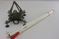 Corporal Guided Missile on launching ramp - 4407