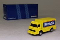 Corgi Small Scale 56501; Leyland Terrier Delivery Van; Weetabix; Bright yellow, black windows
