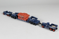 Corgi Classics 55201; Diamond T Ballast Tractor; x2; 24 Wheel Girder Trailer with Casting Load, Pickfords